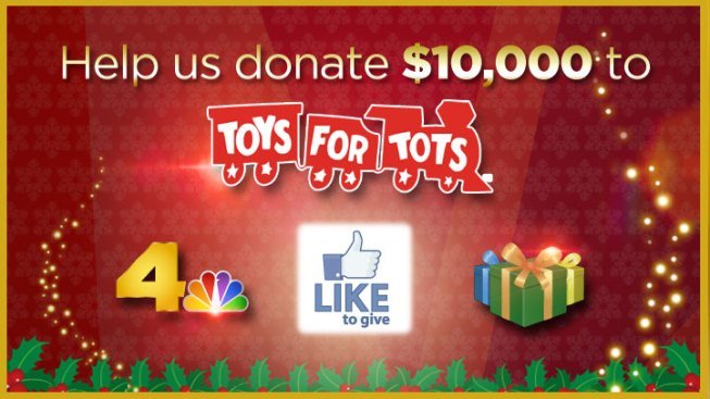 NBC LA's 10,000 Like to Give Charity Drive