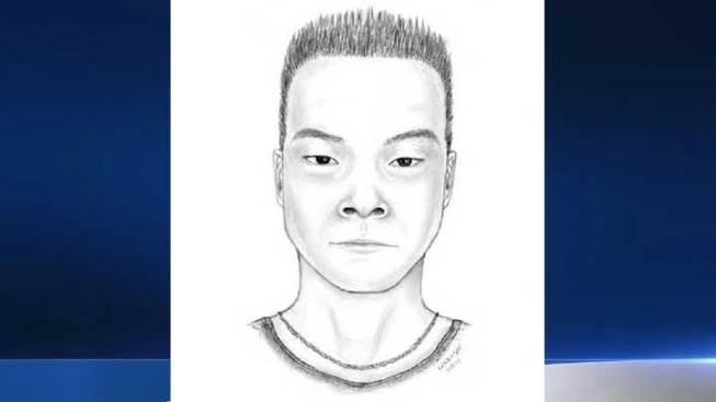 Sketch Released in UCLA Attack