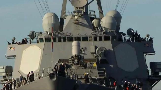 San Diego-Based Destroyer USS Higgins Used in Attack Against Syria