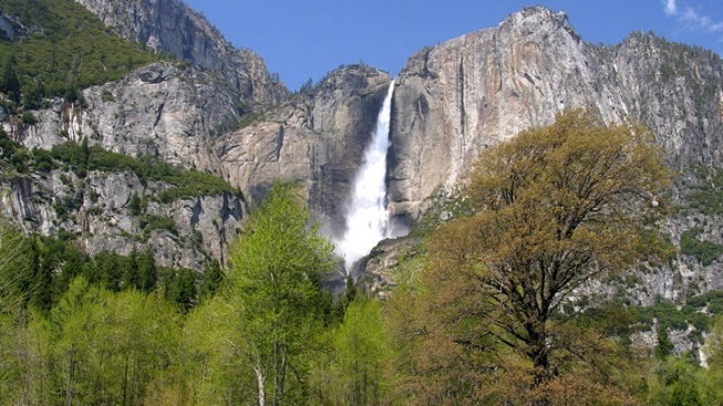 Spring in Yosemite Is Downright Waterfall-tastic