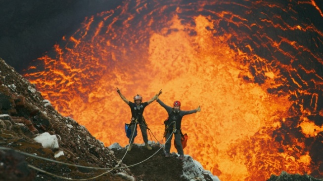 'Volcanoes 3D' Bubbling at the California Science Center IMAX