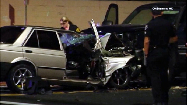 One Dead, Three Critically Injured in Santa Ana Crash