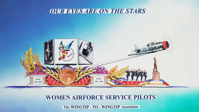 Group Raises Funds for Rose Parade Float for Female WWII Pilots