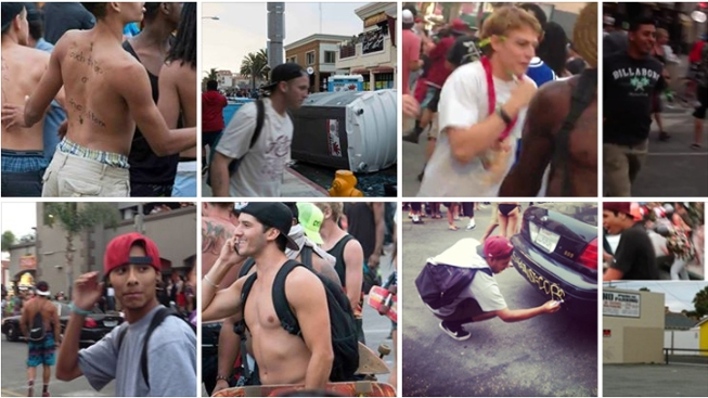 Police Post Photos of Huntington Beach Riot Suspects to Facebook