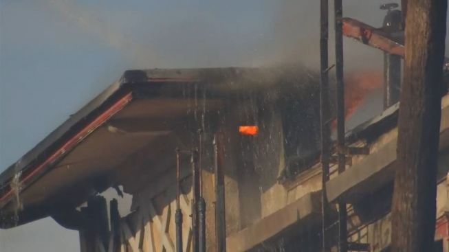 Vacant Westlake Building Gutted by Blaze