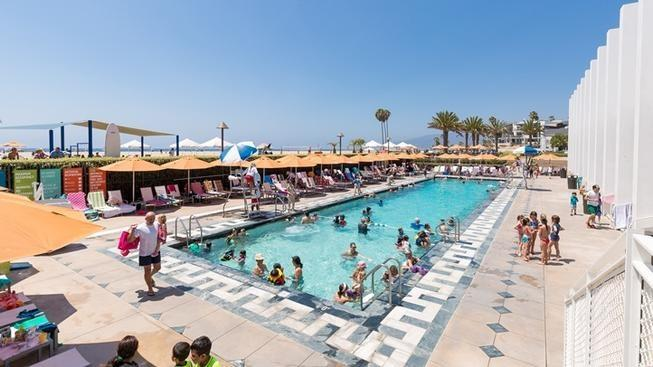 Enjoy an End-of-Summer Pop-up Pool Day, in Santa Monica