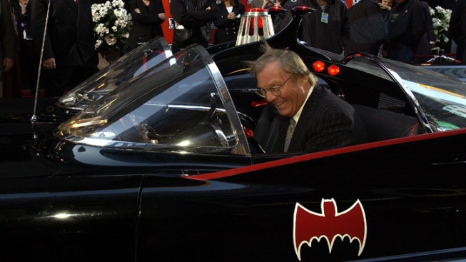 Classic Batman Adam West Honored with Hollywood Star