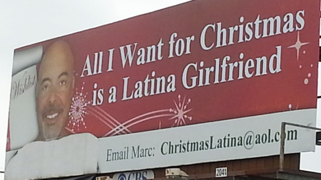 "Millionaire Asks Santa For ""Latina Girlfriend"" via Billboard"