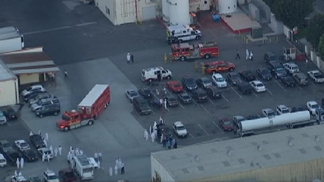 3 Hurt in Ammonia Spill at Cheese Factory in South Gate