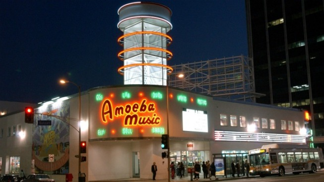 Amoeba Music: Staying Put (for Now)
