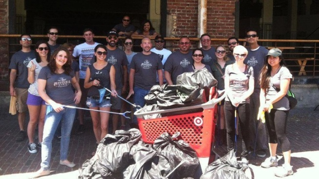Good Hearts: Angel City Brewery Community Clean-Ups