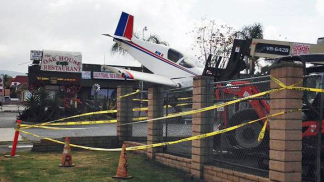 Man Stages Plane Crash for April Fool's Joke