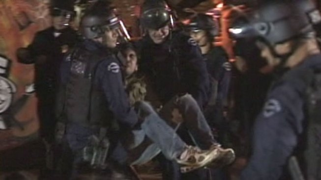 About 200 Arrested in Occupy LA Eviction