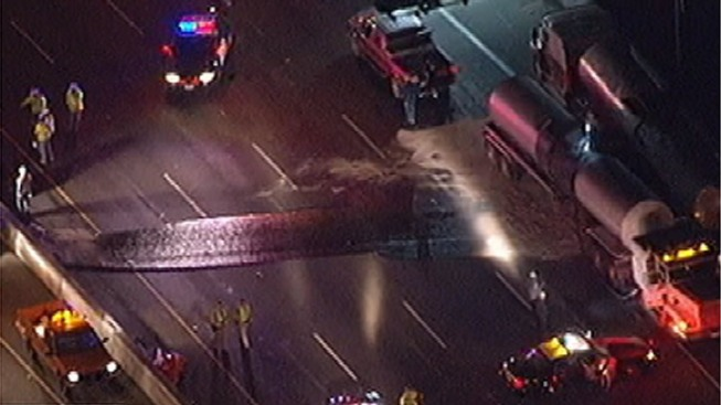 710 Freeway Lanes Reopen After Asphalt Spill