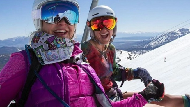 Rare Year: Mammoth Skis into August