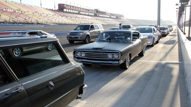 Auto Club Speedway: Drive Your Own Car