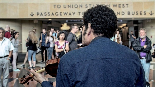 Trains + Tunes: Bach in the Subways