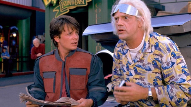 Fire Up the Flux Capacitor, Marty McFly Mavens