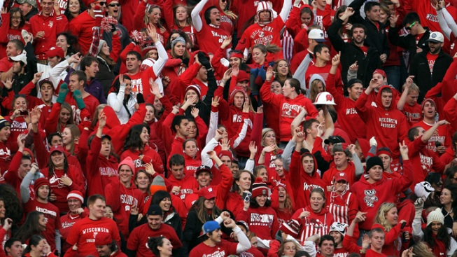 Badger Fans Launch Operation Jump Around