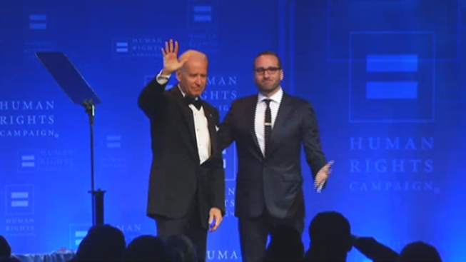 Vice President Joe Biden Speaks at LGBT Gala in LA