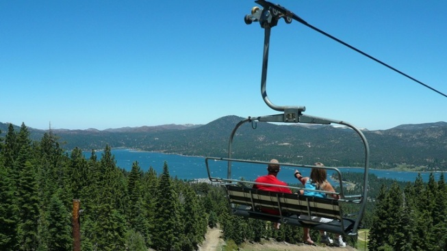 Above Big Bear: Scenic Sky Chair Ride
