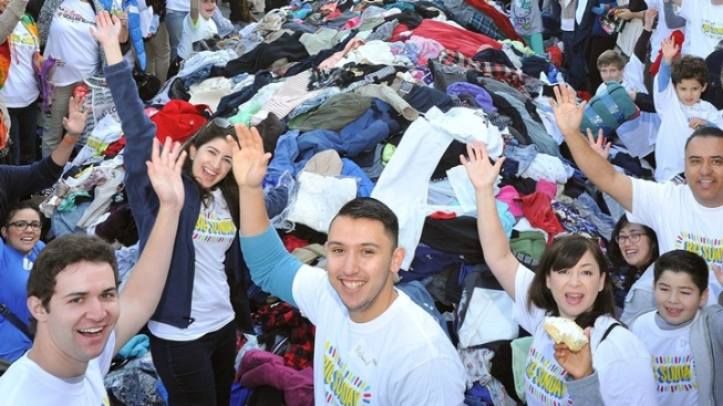 Help Sort 25,000 Clothing Items at Big Sunday's MLK Day Event