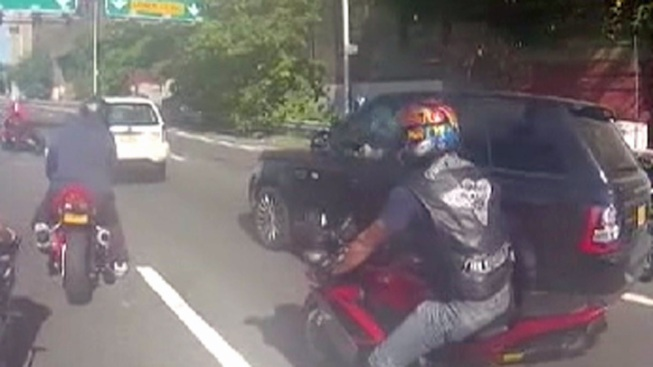 Another Motorcyclist Arrested in Biker-SUV Brawl: Cops