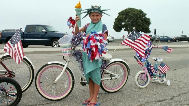 Patriotic Bike Parade to Roll in Long Beach