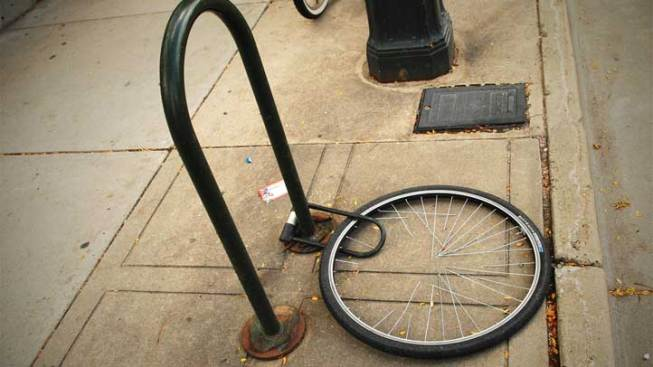 Secure Your Bike Against Rash of Bike Thefts