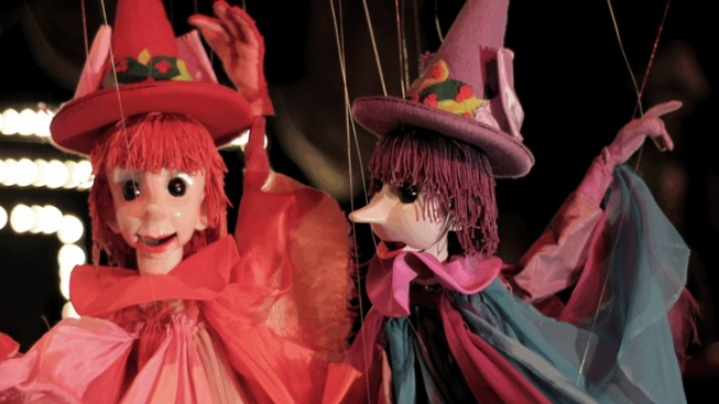 Fun Frights: A Sweetly Old-School Marionette Show