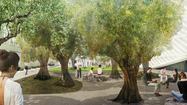 Green Space Off Grand: Downtown Nature Grows