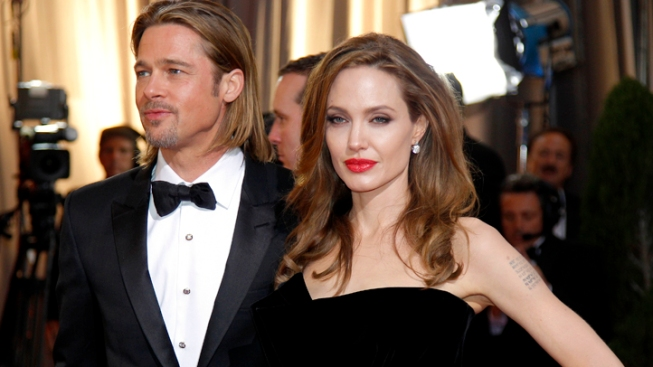 Angelina Jolie Denies She and Brad Pitt Had Secret Wedding