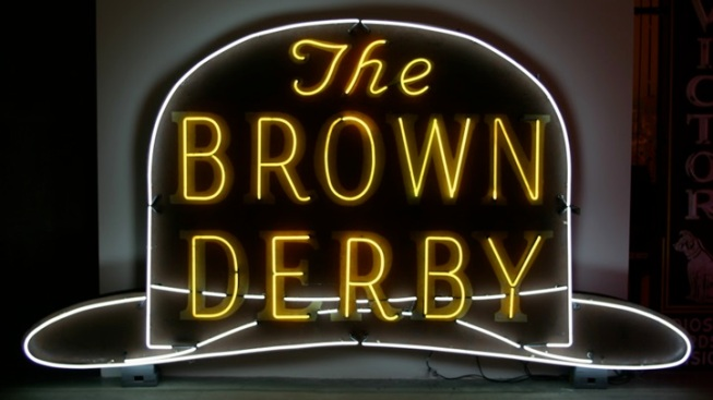 Neon Gem: Brown Derby Sign Restored