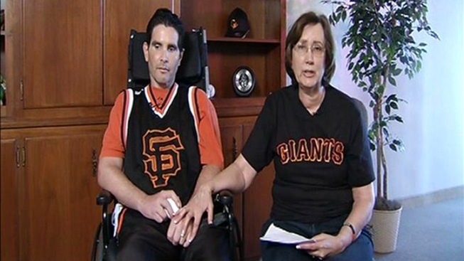 Son of Beating Victim Bryan Stow Throws First Giants Pitch