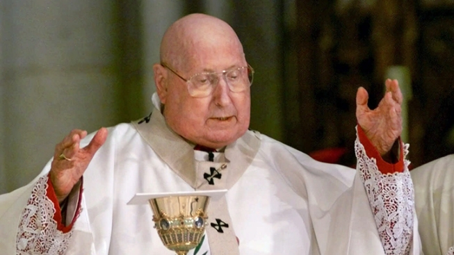 NY Cardinal John O'Connor Was Jewish, Sister Says