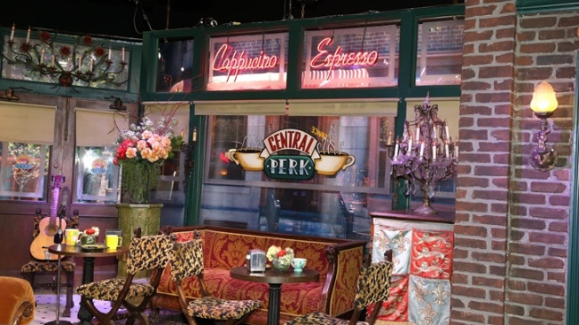 'Friends' Furniture: Visit Central Perk in Burbank