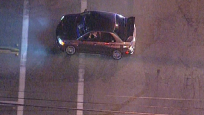 Driver in Custody After Slow-Speed Chase Leads Police to Long Beach Airport