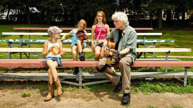 Grandkids + Granddad Band
