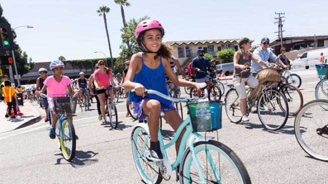 CicLAvia Pedals Pico Union and Mid-City