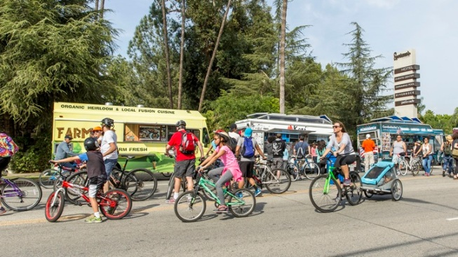 Weekend: CicLAvia Goes Pacoima
