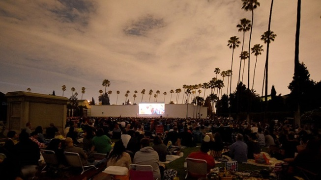 Opening: Cinespia at Hollywood Forever