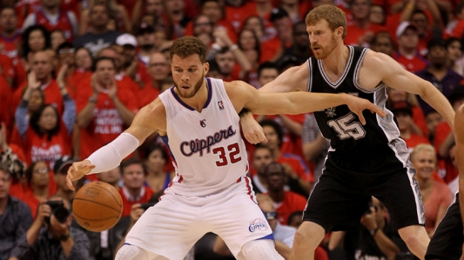 Clippers Lose to Spurs, 96-86