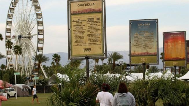 Coachella, Grand Prix Go On Despite Weekend Storm