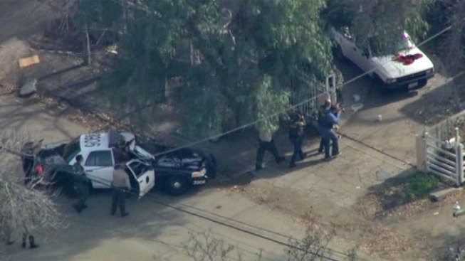 3 in Custody in Compton After Freeway Pursuit From Riverside