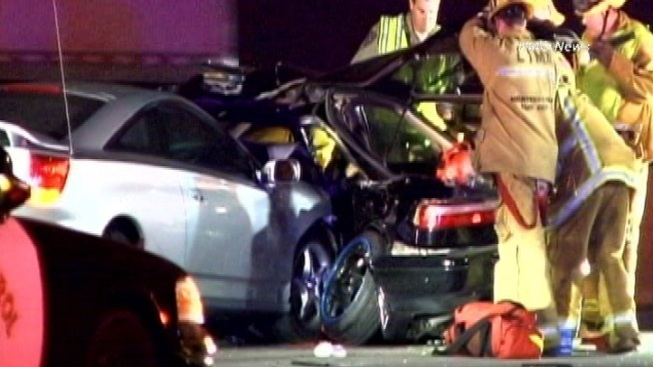 One Killed in 60 Freeway Crash in Monterey Park