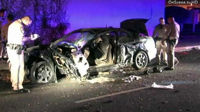 Driver Crashes Stolen Honda at End of Whittier Pursuit
