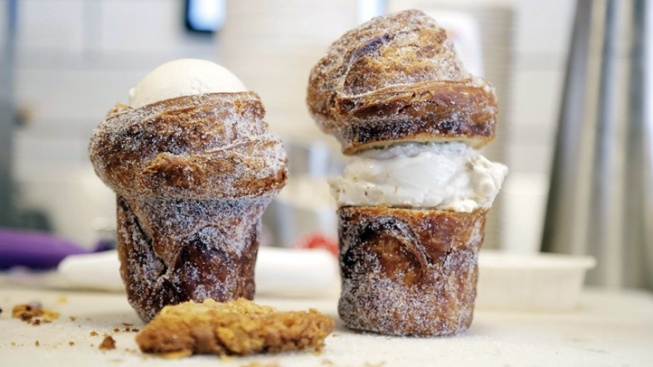 The Cruffin Ice Cream Cone: Pop-Up Event