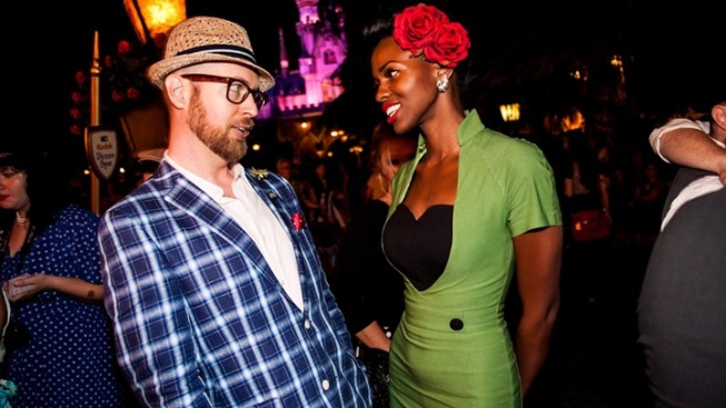 Theme Park Chic: Dapper Day at Disneyland