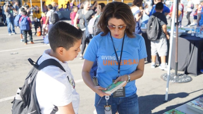 A 'Day of Giving' at Universal Studios Hollywood