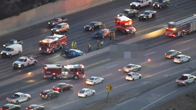Freak Crash Kills Man, Leaves 2 Others Hurt on 118 Freeway in